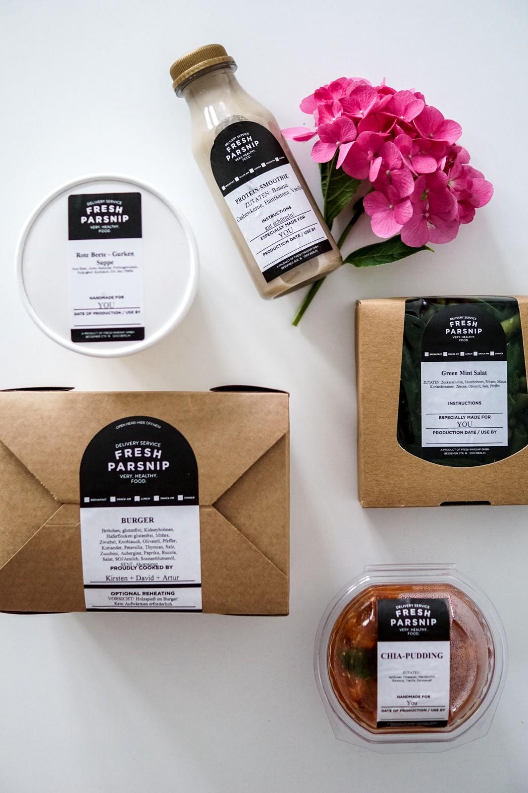 Healthy Delivery von Fresh Parsnip