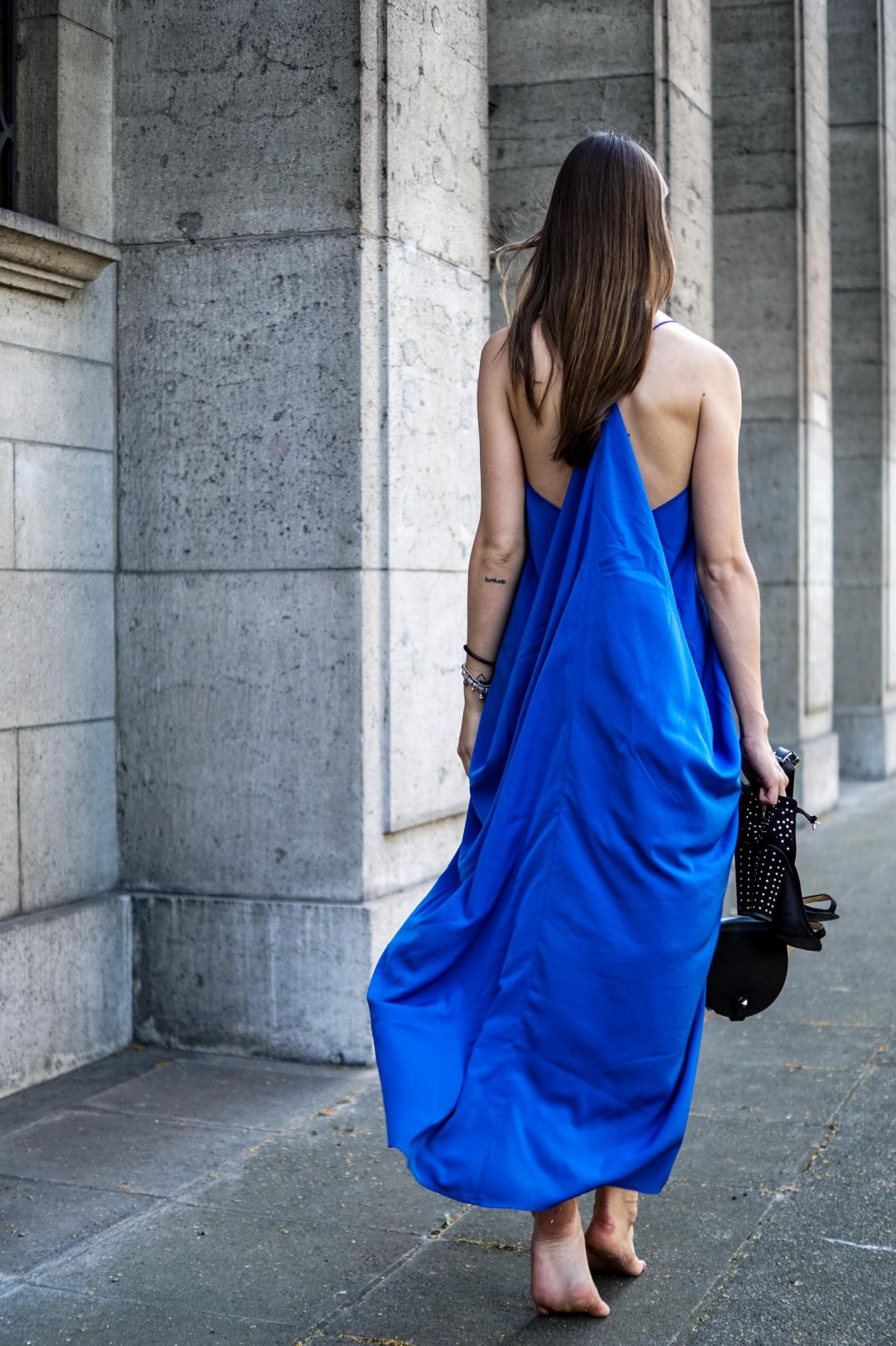 Electric Blue Dress