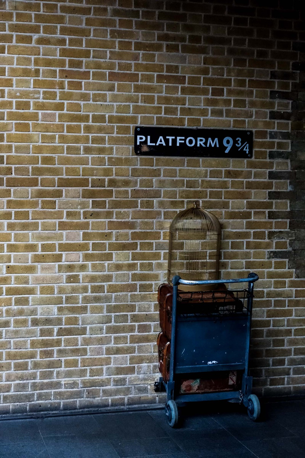 London Platform 9 3/4