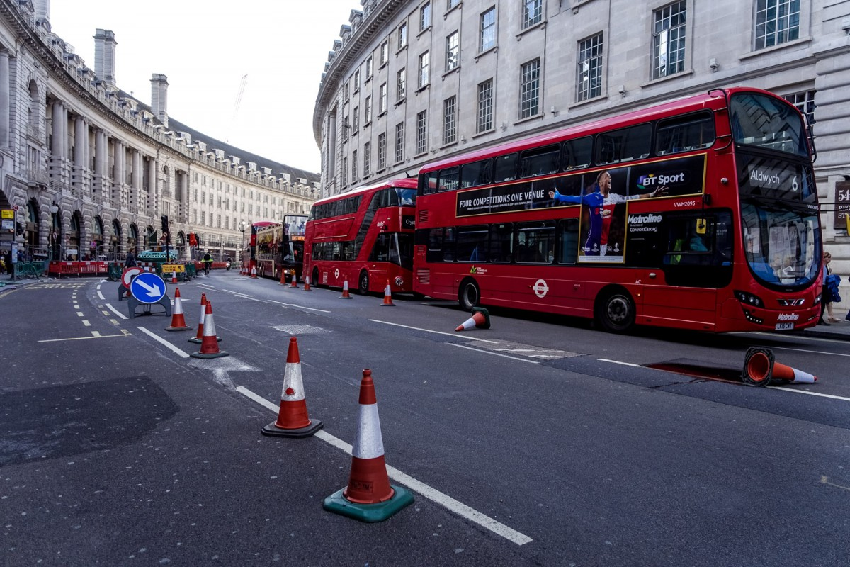 London Red Busses
