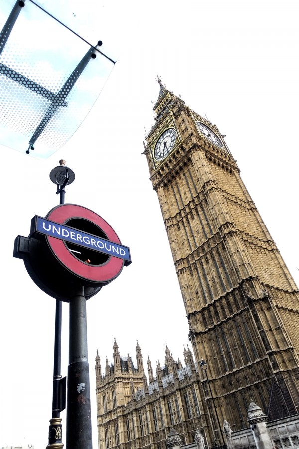 London Big Ben Underground