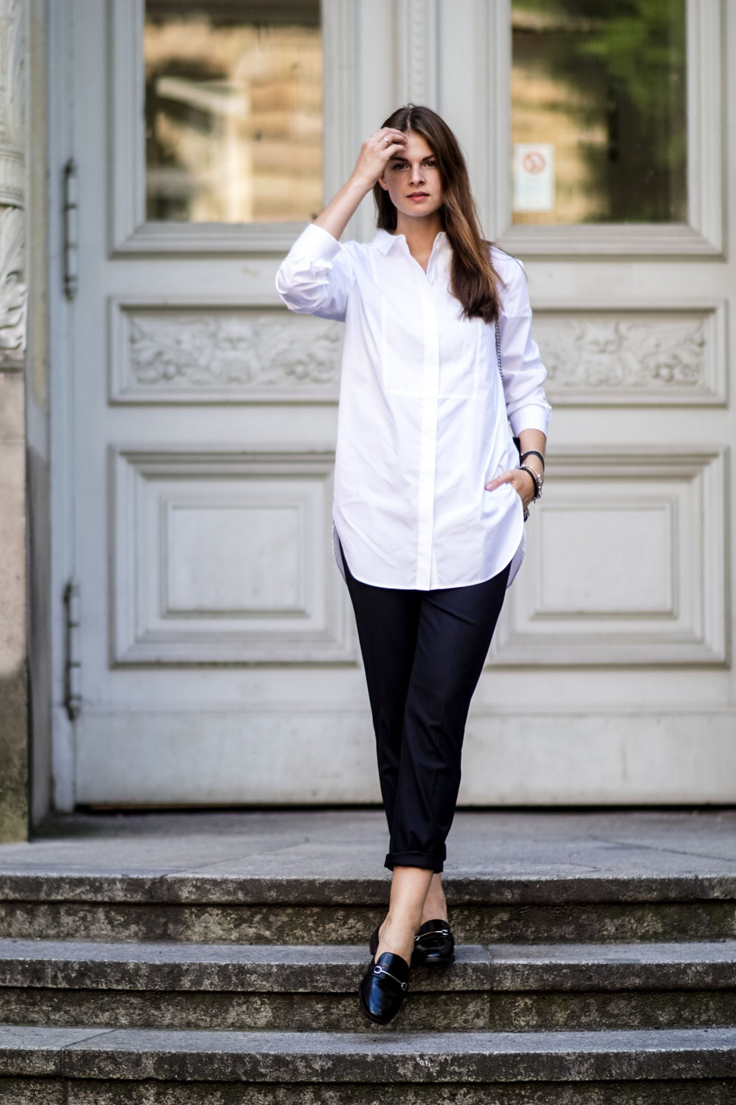 Marks & Spencer white shirt
