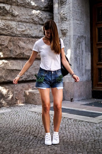 Levi's Shorts with tassels