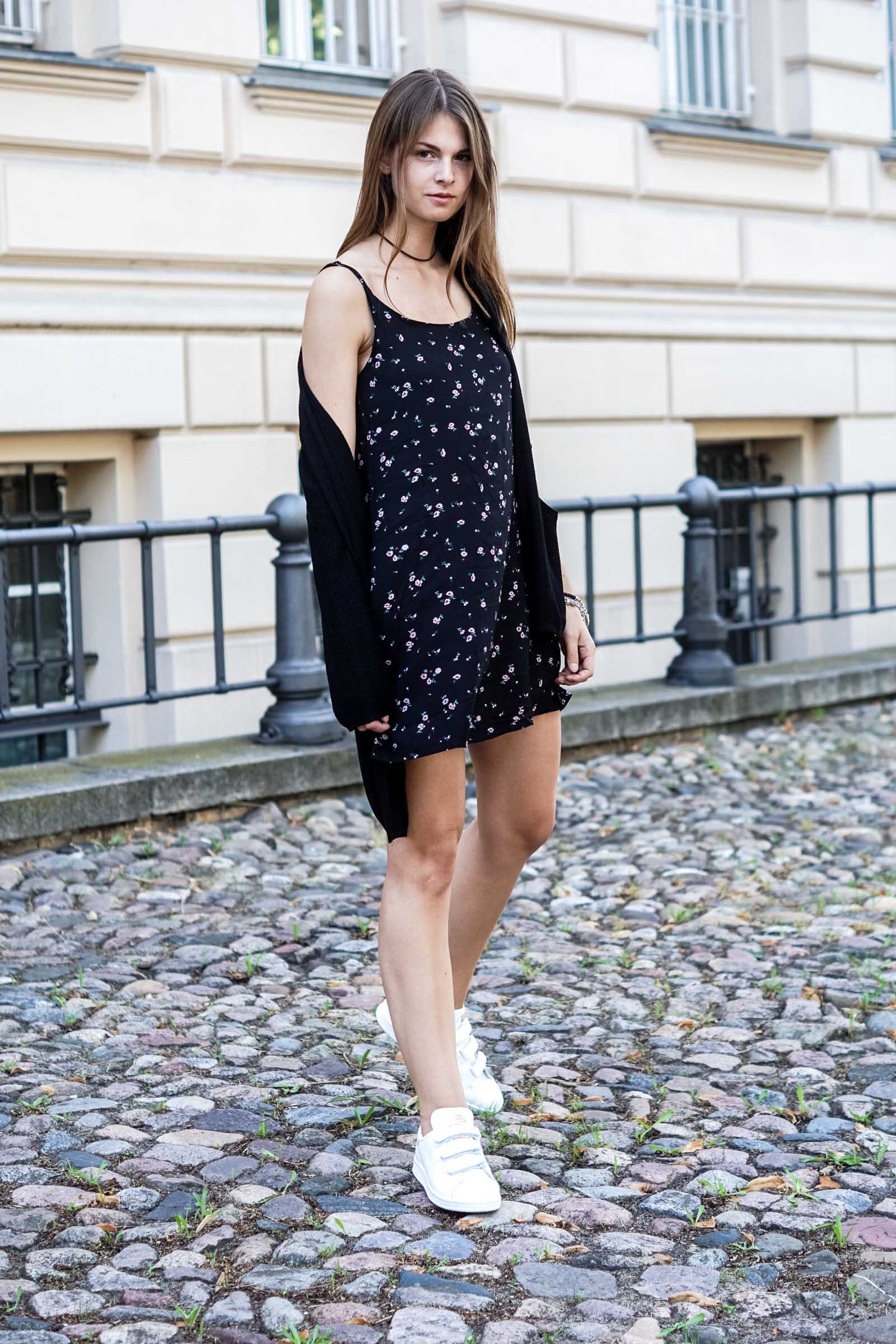 Velcro Stan Smith and Flower Dress
