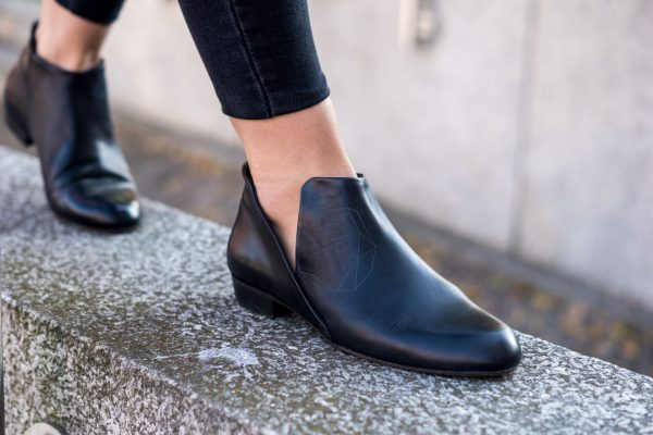 Shoes with Cut-Out