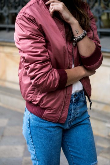 Subdued Bomber jacket