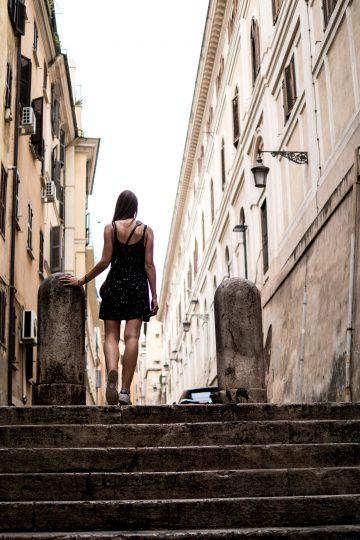 In den Straßen Roms