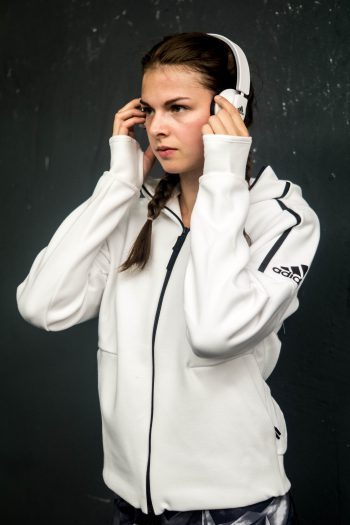 Find Focus with the new adidas Athletics Category and the Z.N.E. Hoodie