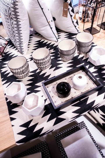 black white Home collection