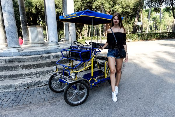 Rom per Fahrrad erkunden