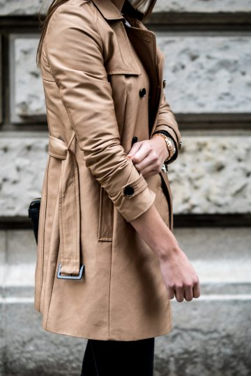 caramell Trenchcoat
