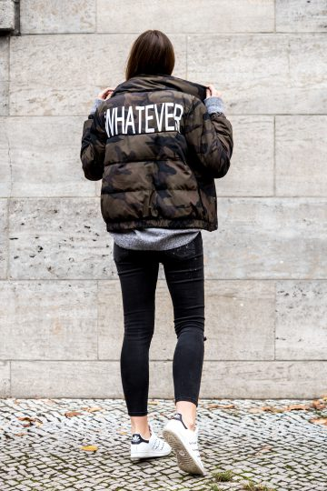 Whatever Bomber jacket