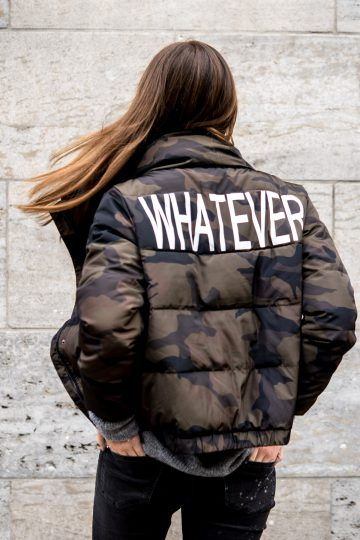 The Whatever Camouflage Bomber How To Wear A Bomber Jacket