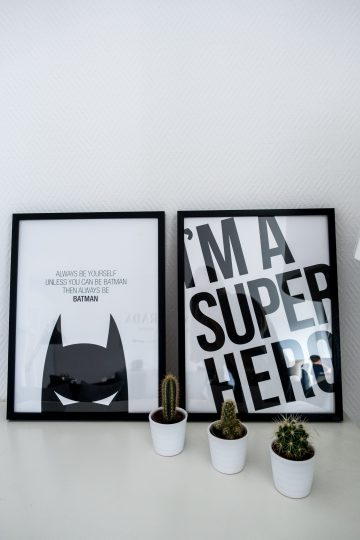 Redecorating with Desenio and their Scandinavian Posters