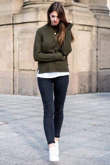 Casual autumn outfit