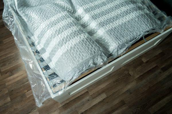 Leesa Matratze ausgepackt