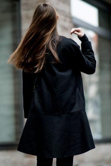 Wie trägt man Schwarz