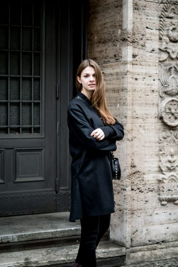 schwarzer COS Mantel