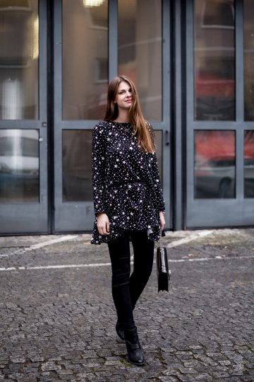 Dress in Star Print