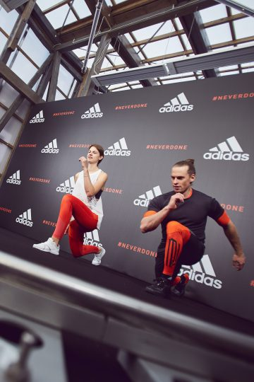 NEVER DONE Training Week with Adidas during Fashion Week