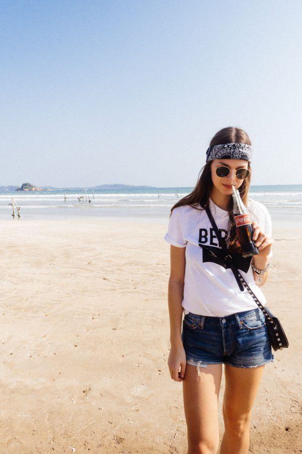 Coke am Strand