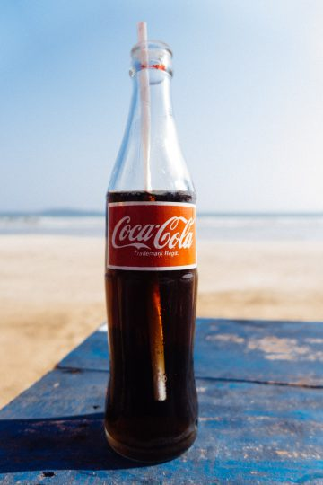 Retro Coca Cola bottle