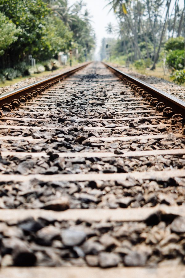 railway tracks in Sri Lanka
