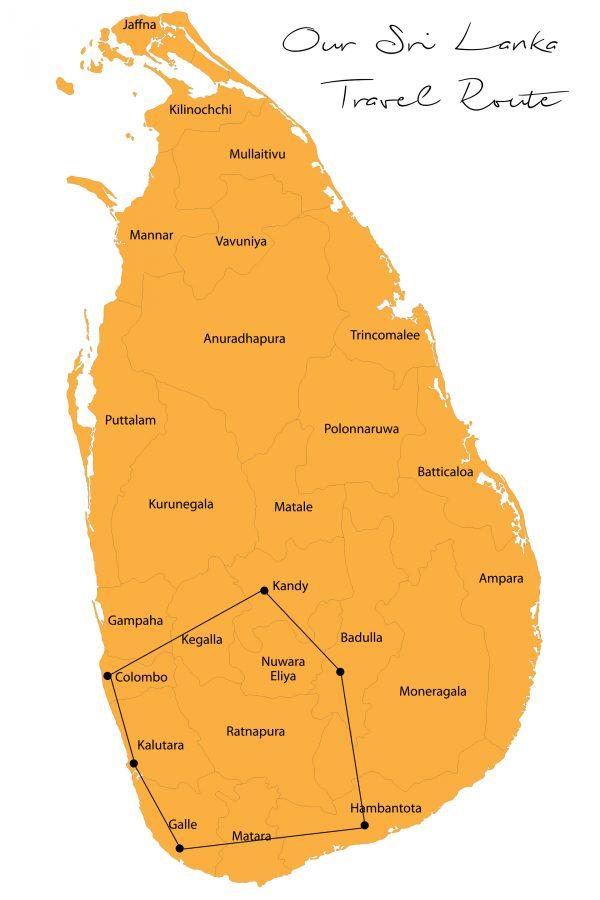 Sri Lanka Reiseplanung