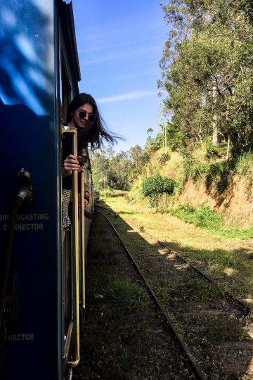 Zugfahrt nach Ella