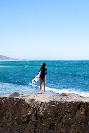 Surfspot in Taghazout