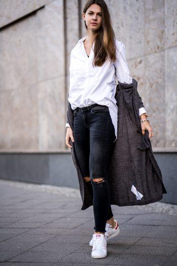zerrissene Gina Tricot Jeans