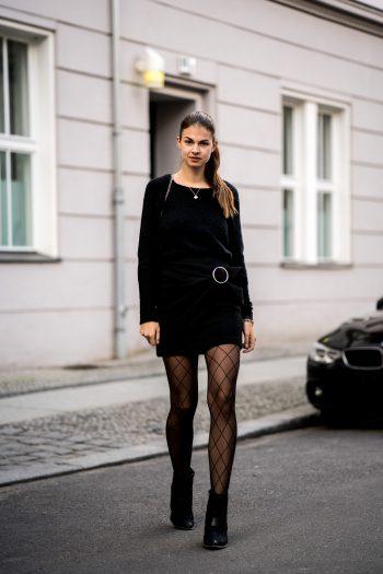 schwarzer Zara Rock
