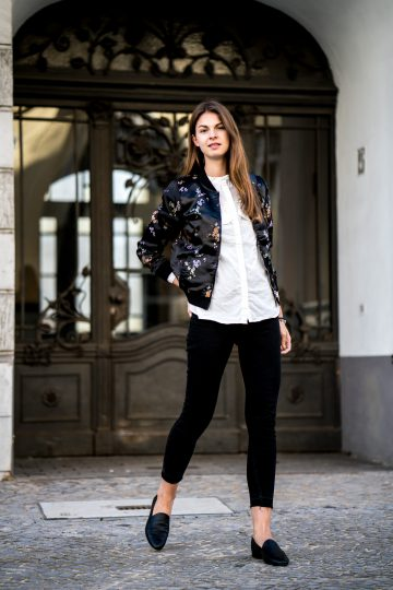 Asian Silk Bomber Jacket