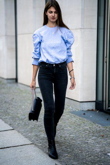 dunkelgraue Lee Jeans