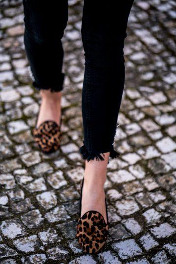 Leopard Print Schuhe
