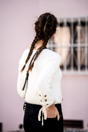 how to wear Boxer Braids