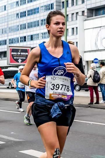 My first half marathon in Berlin