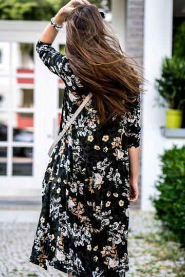 Wie trägt man Blumenprint