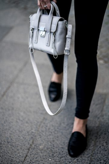 light grey bag