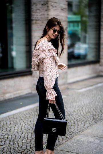 Zara Shirt with ruffles