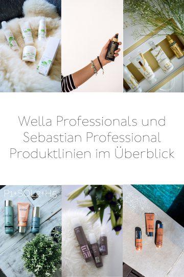 Produktserien von Wella Professionals und Sebastian Professional im Überblick