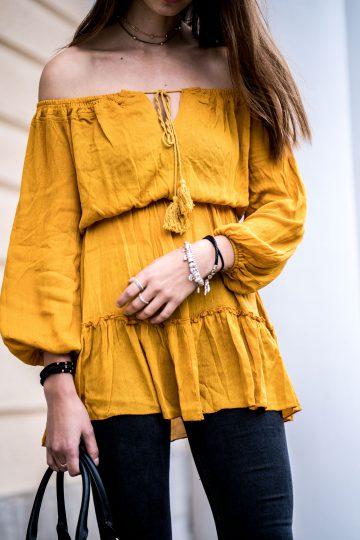Wie trägt man Gelb