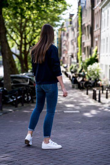 blaue GANT Jeans