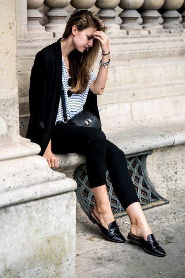schwarzer Vintage Blazer