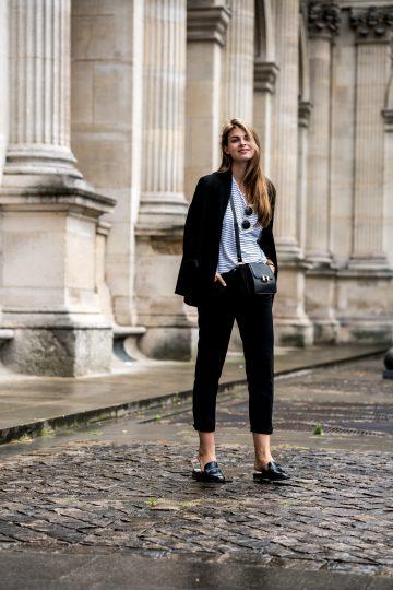 Schwarz und Weiß in Paris
