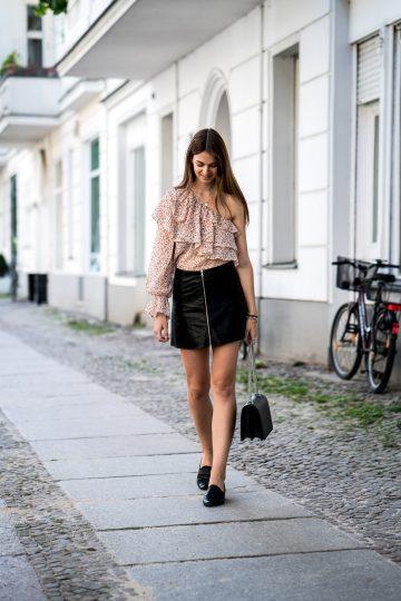 Zara Shirt One Shoulder
