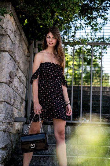 Kleid mit Blumenprint