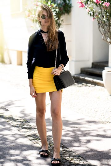 how to wear a Skort