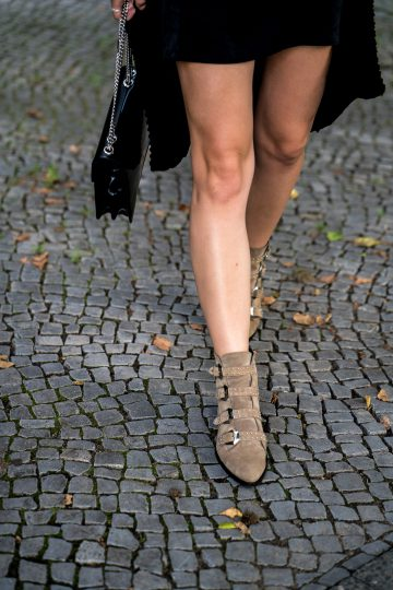 braune Boots Omoda
