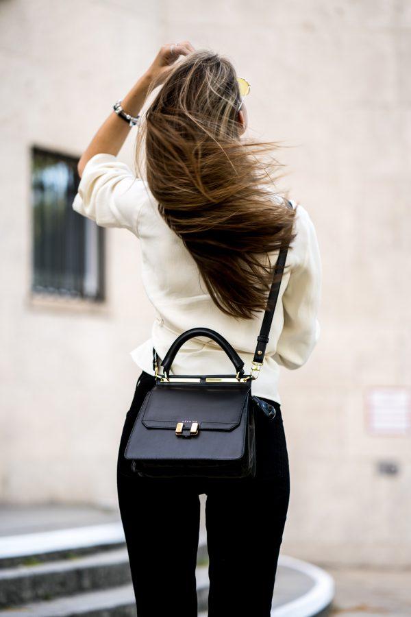 how to wear a cross-body bag